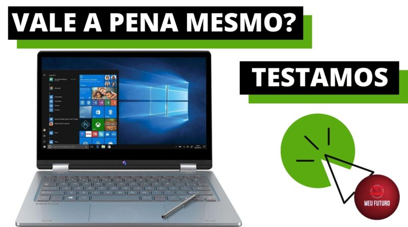 Notebook Positivo Duo C464C Intel Celeron